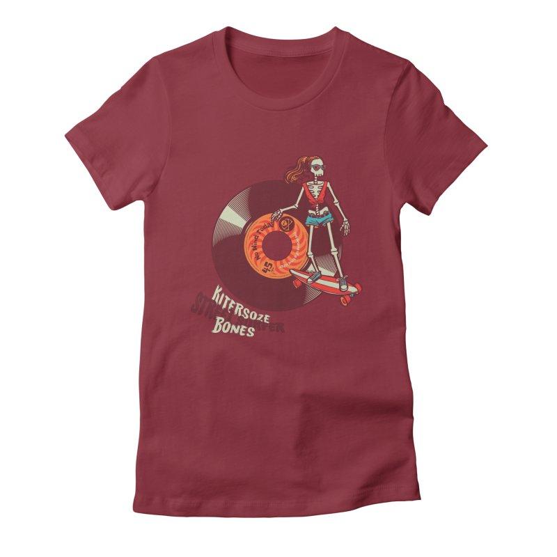 Street Surfer Women's T-Shirt by kitersoze