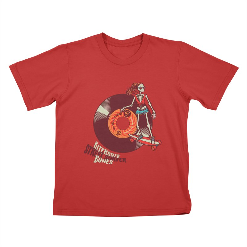 Street Surfer Kids T-Shirt by kitersoze