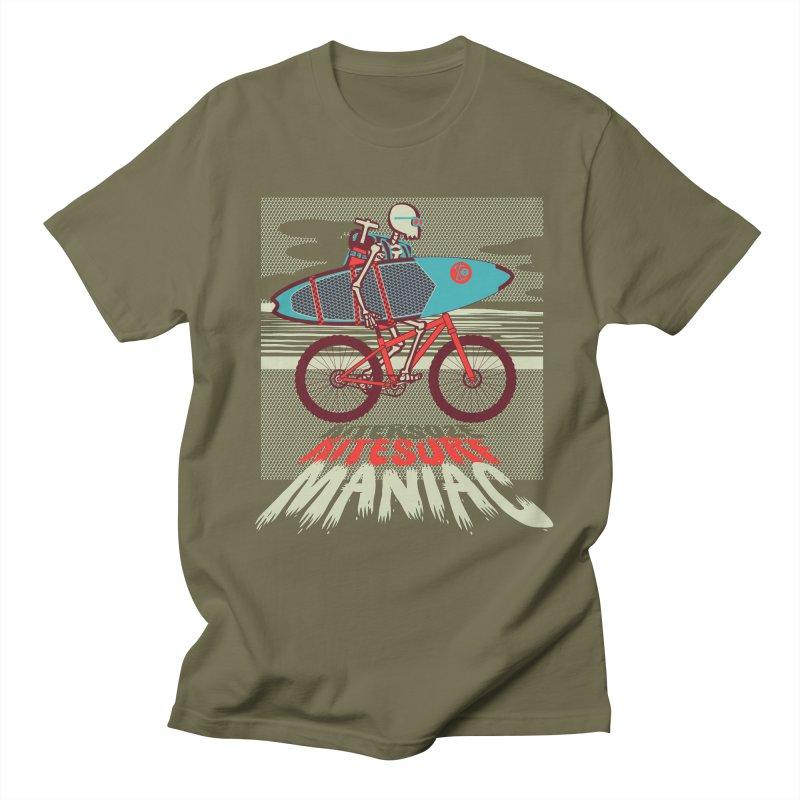 Kite by bike Women's Regular Unisex T-Shirt by kitersoze