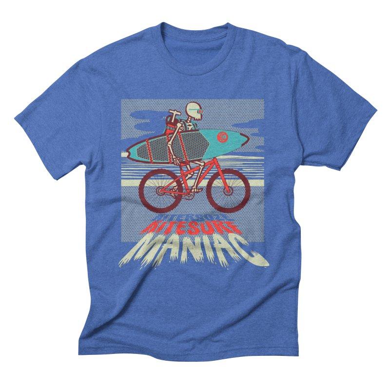 Kite by bike Men's T-Shirt by kitersoze