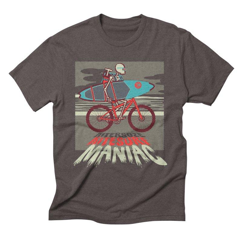 Kite by bike Men's Triblend T-Shirt by kitersoze