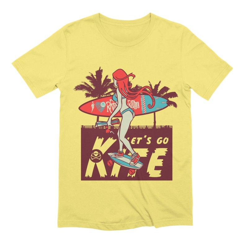 Skate Kitegirl Men's T-Shirt by kitersoze
