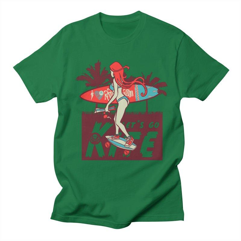 Skate Kitegirl Women's T-Shirt by kitersoze