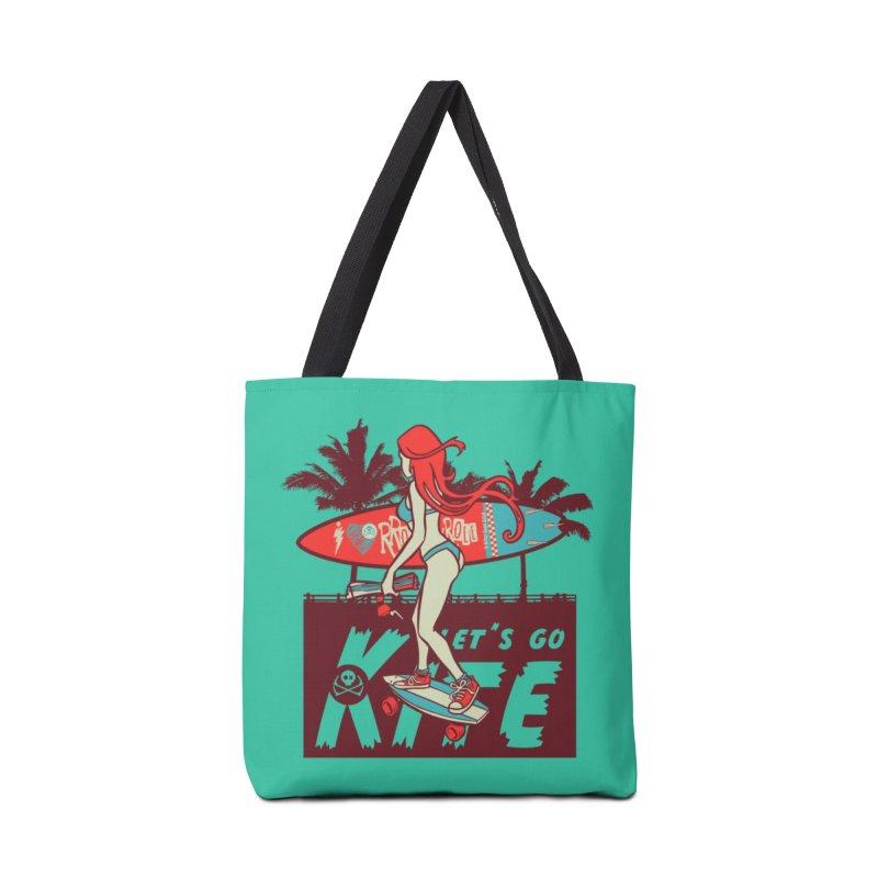 Skate Kitegirl Accessories Bag by kitersoze