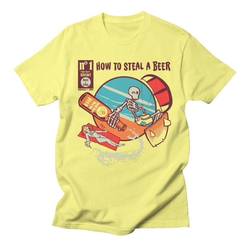 Trick 1 - How to steal a Beer Men's T-Shirt by kitersoze
