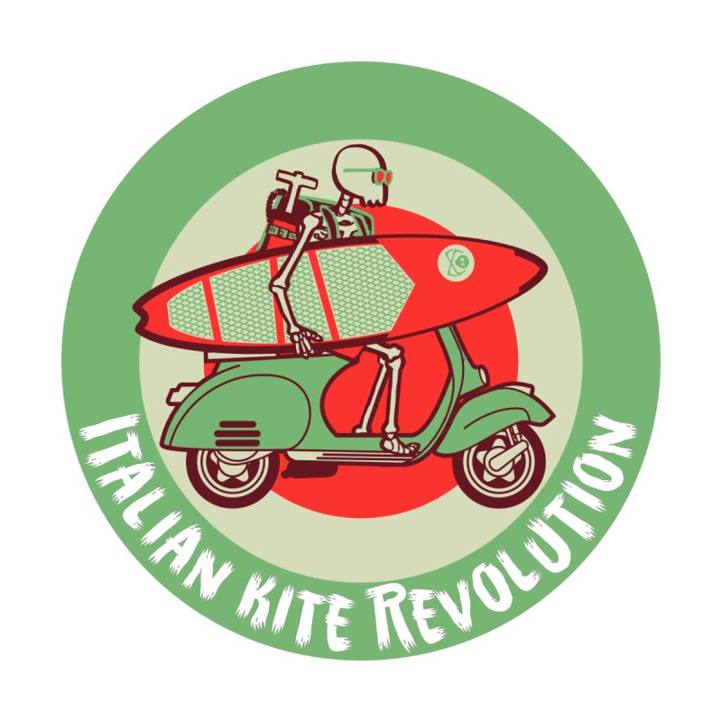 Italian Kite Revolution Women's T-Shirt by kitersoze