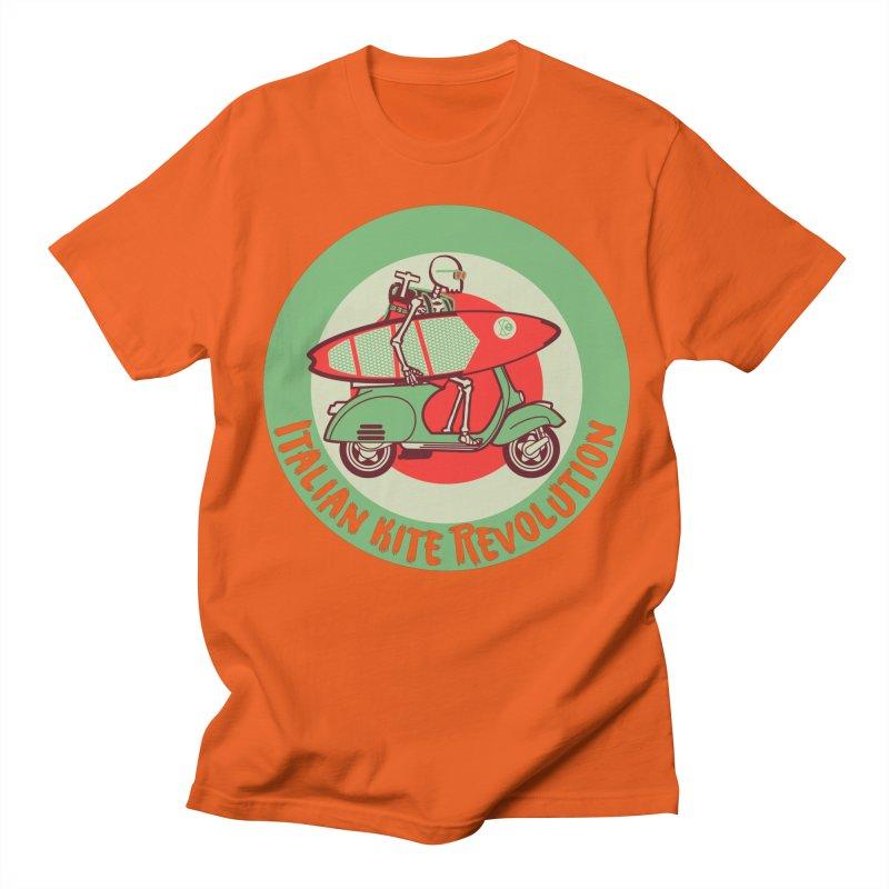 Italian Kite Revolution Men's T-Shirt by kitersoze