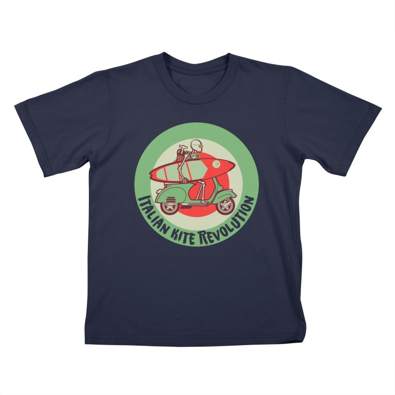 Italian Kite Revolution Kids T-Shirt by kitersoze