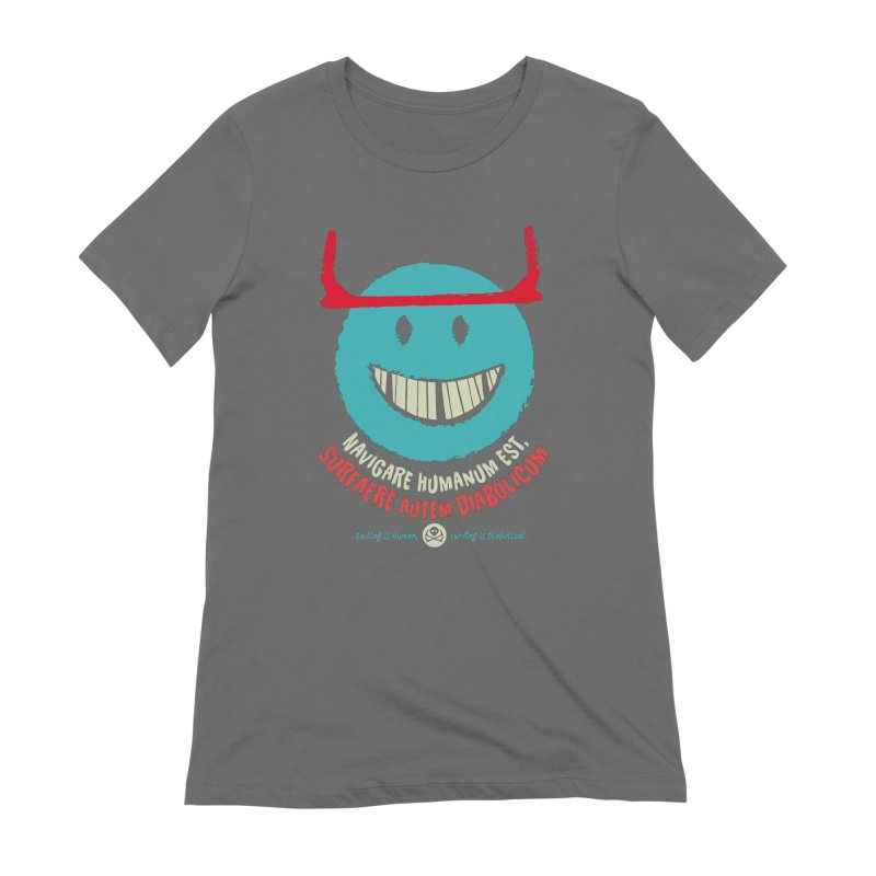 Diabolicum Kite Smile Women's T-Shirt by kitersoze