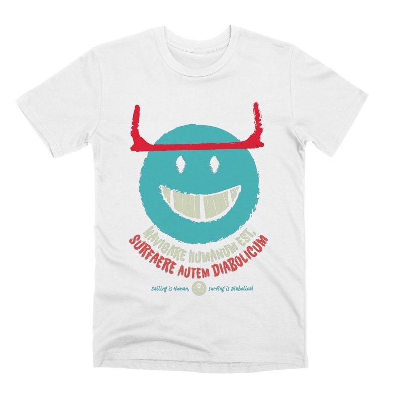 Diabolicum Kite Smile Men's T-Shirt by kitersoze