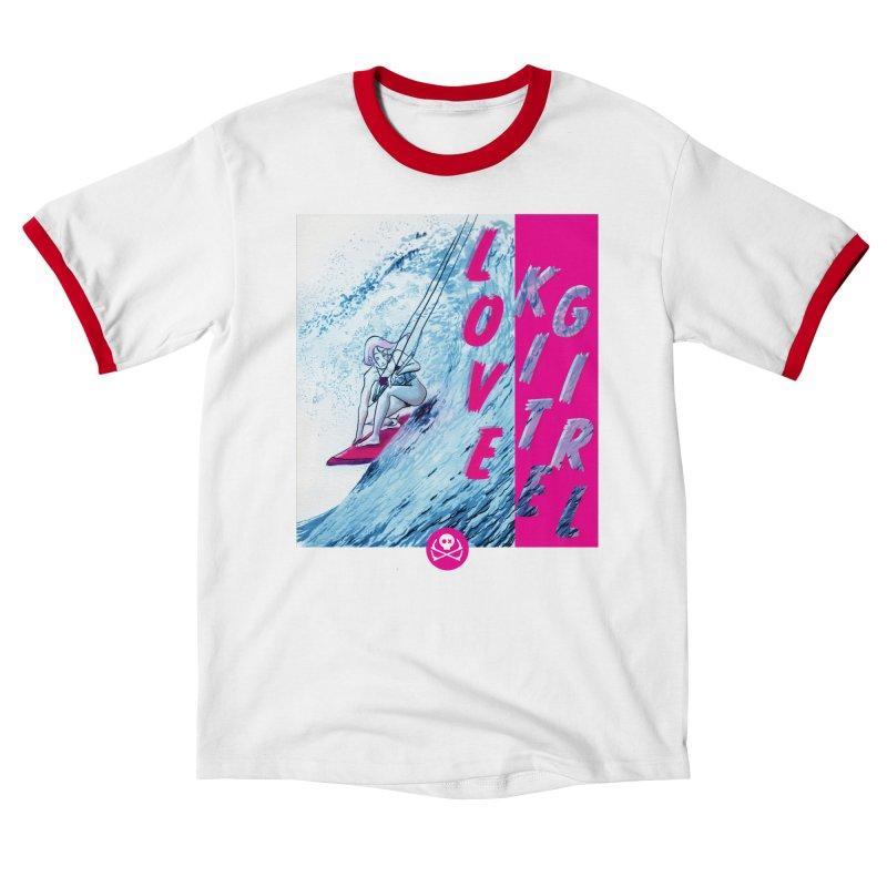 Love Kite Girl Women's T-Shirt by kitersoze