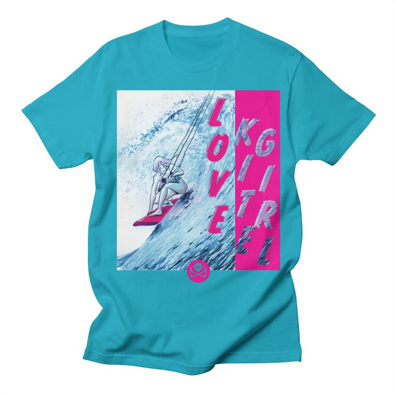 Love Kite Girl Men's T-Shirt by kitersoze