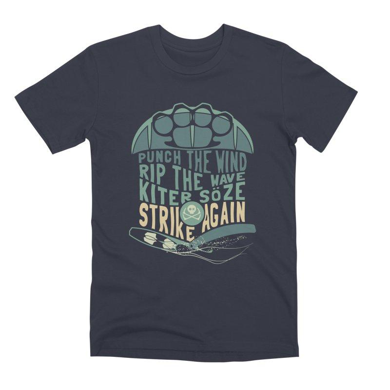 Kiter Punch_pop in Men's Premium T-Shirt Midnight by kitersoze