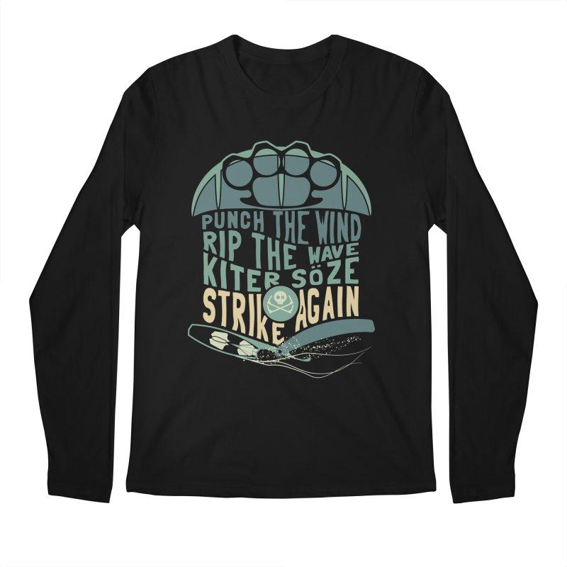 Kiter Punch_pop Men's Regular Longsleeve T-Shirt by kitersoze