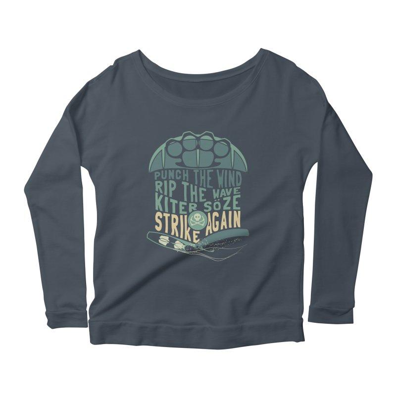 Kiter Punch_pop Women's Longsleeve T-Shirt by kitersoze