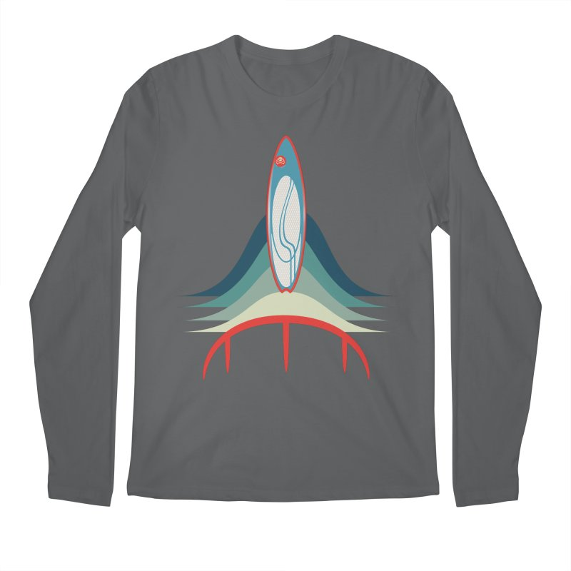 Rocket Kite Men's Longsleeve T-Shirt by kitersoze