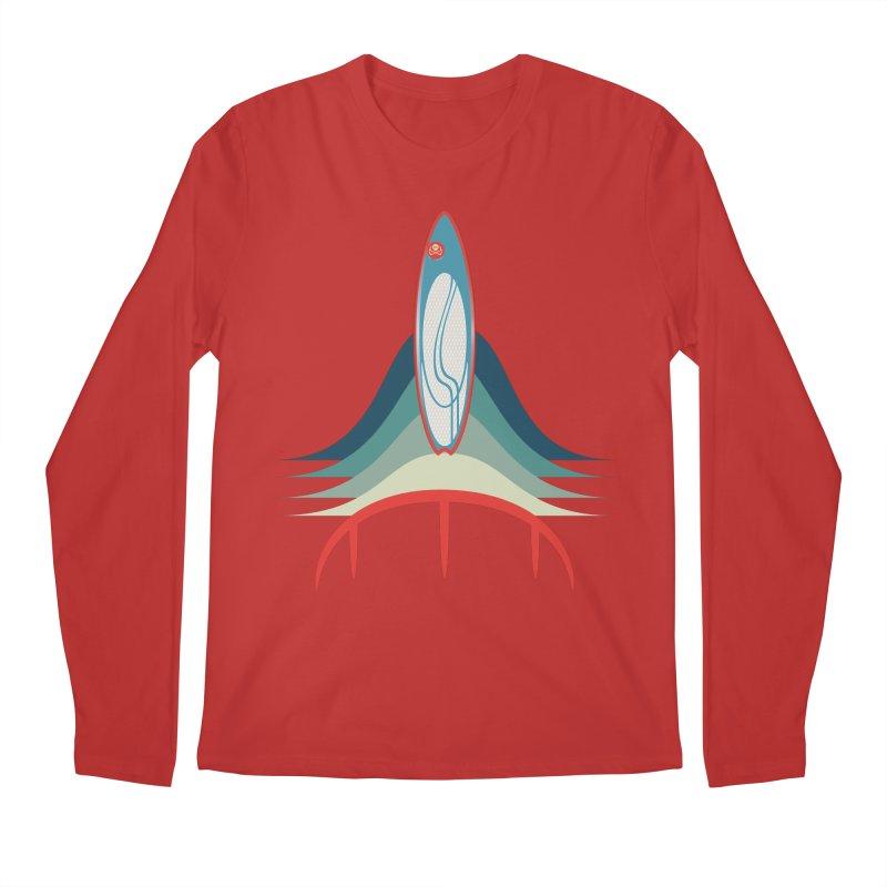 Rocket Kite Men's Regular Longsleeve T-Shirt by kitersoze