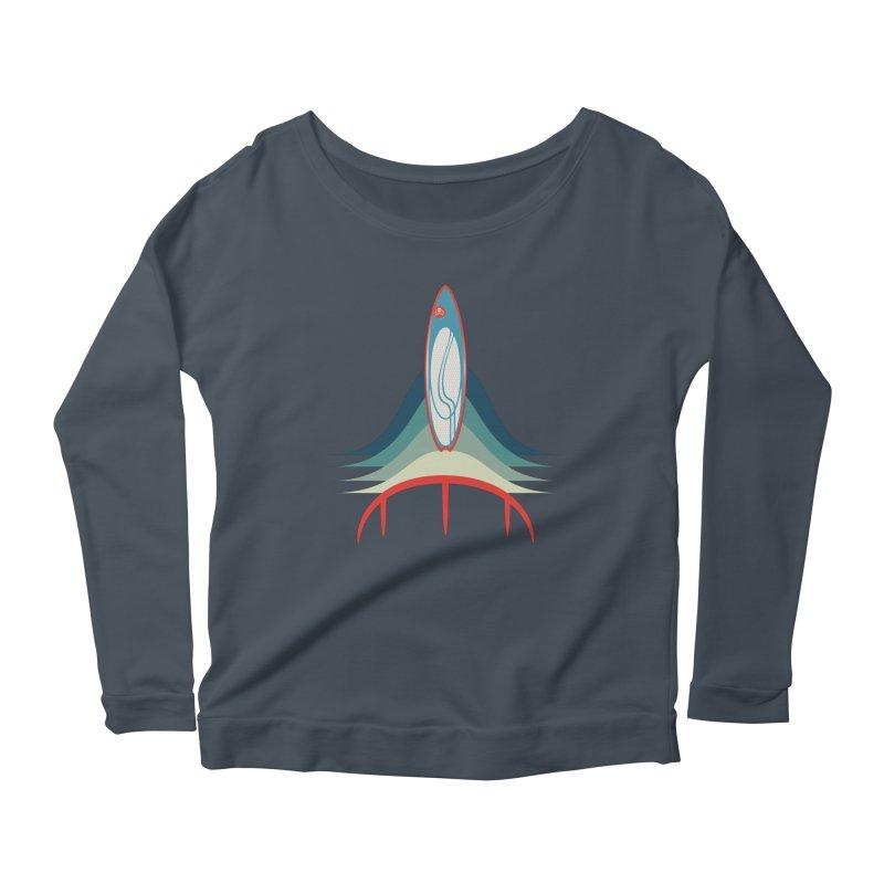 Rocket Kite Women's Longsleeve T-Shirt by kitersoze