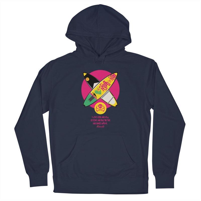 I Love Rock'n'Roll Men's Pullover Hoody by kitersoze