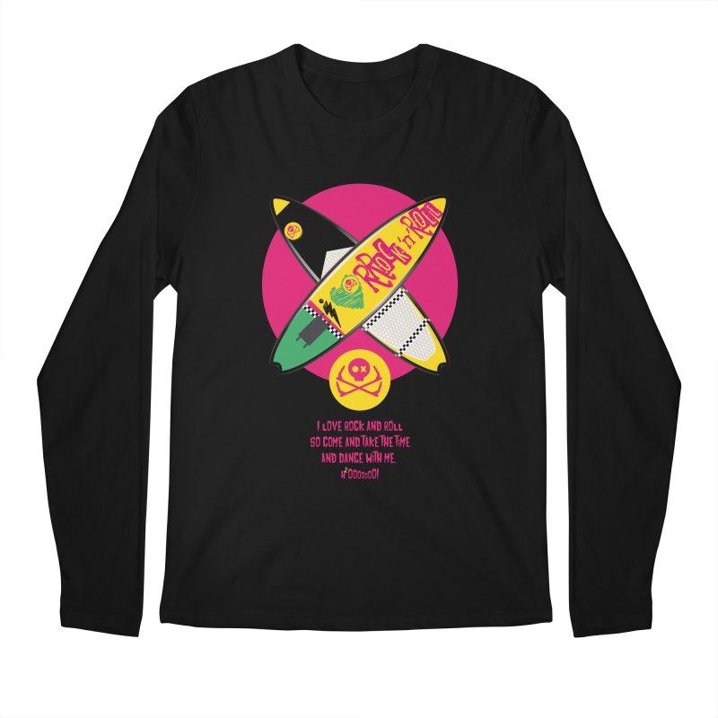 I Love Rock'n'Roll Men's Regular Longsleeve T-Shirt by kitersoze