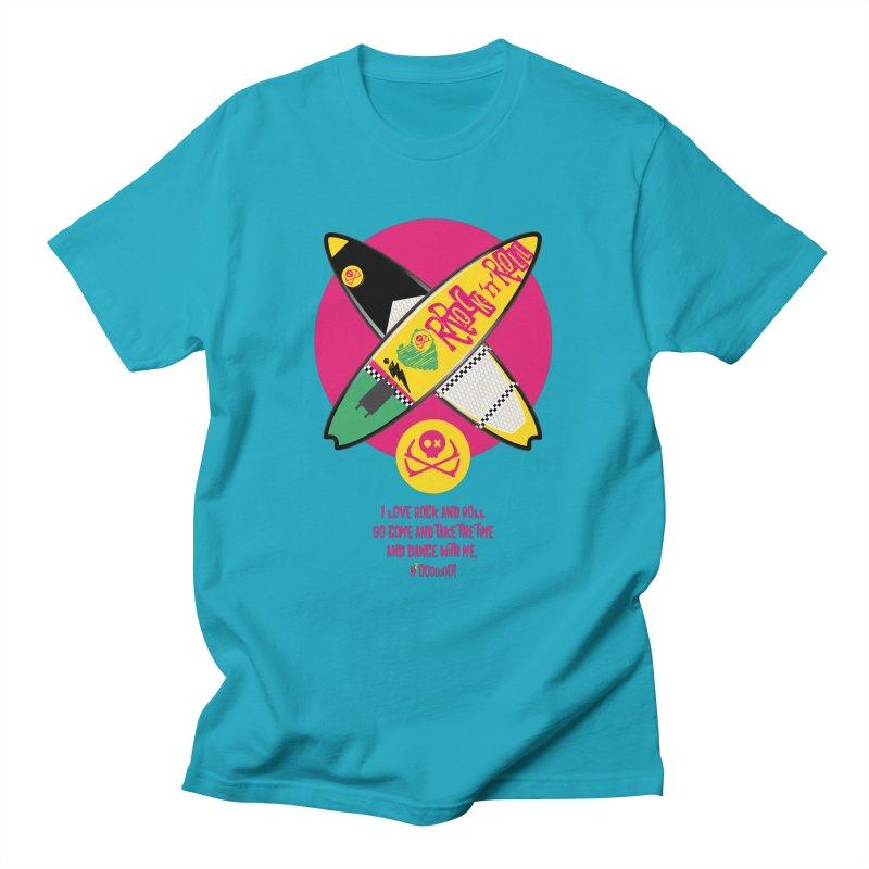 I Love Rock'n'Roll Men's T-Shirt by kitersoze
