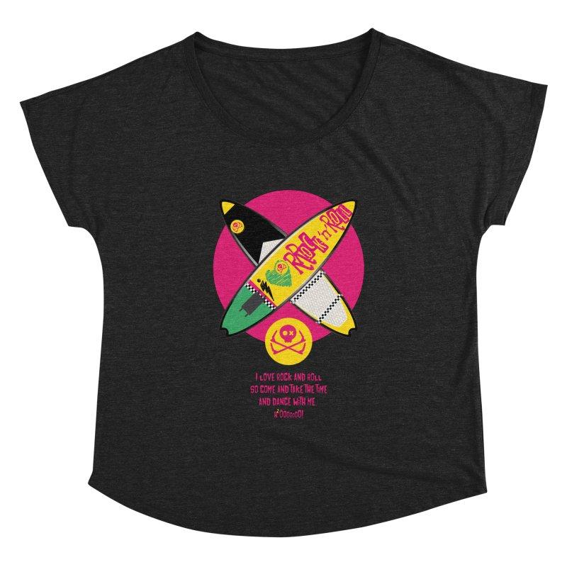 I Love Rock'n'Roll Women's Scoop Neck by kitersoze