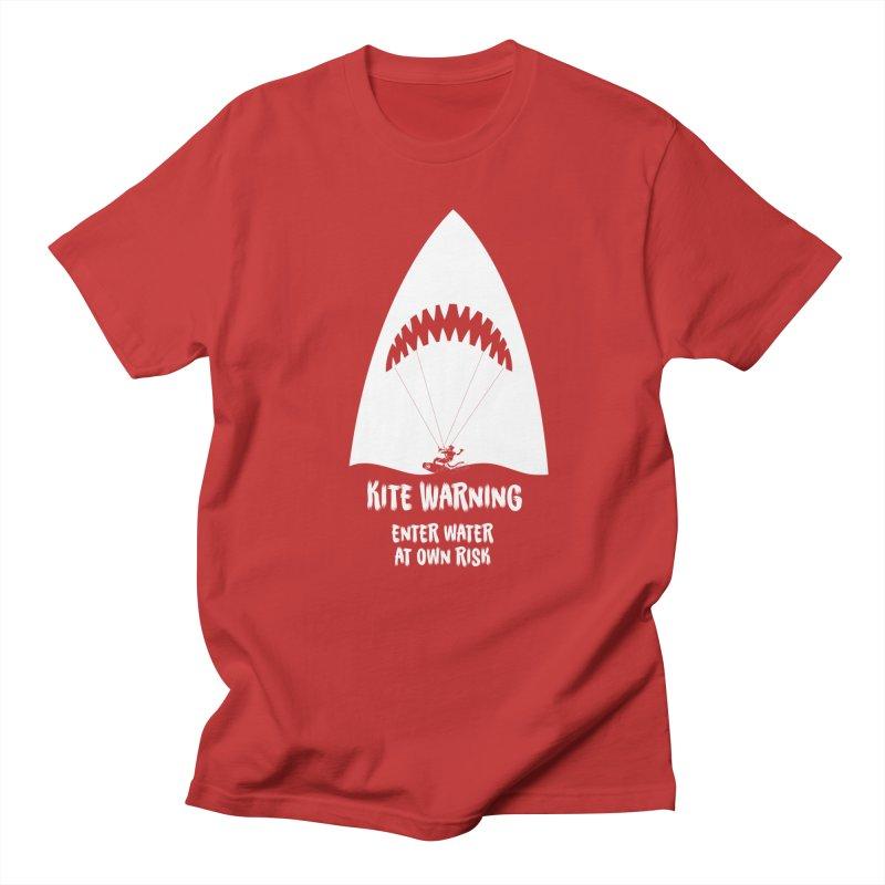 Kite Warning Men's T-Shirt by kitersoze