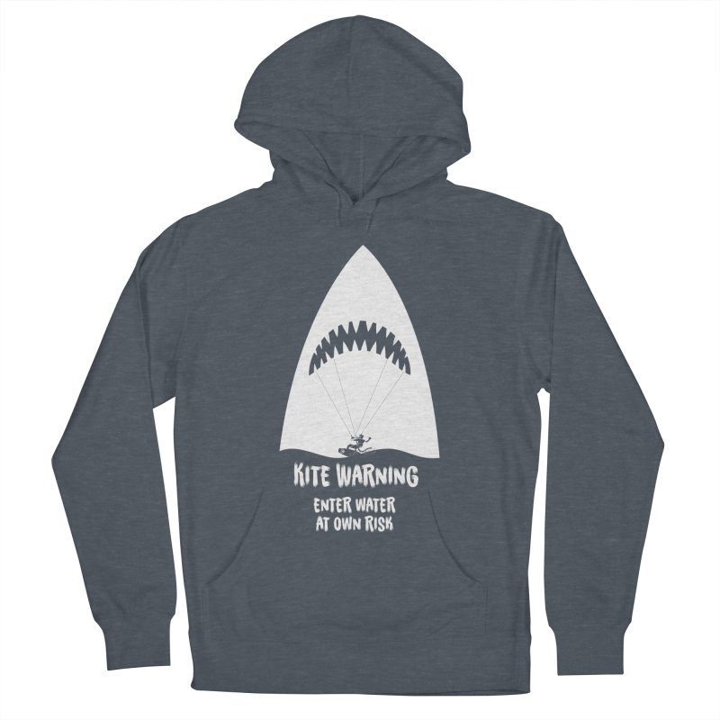 Kite Warning Women's French Terry Pullover Hoody by kitersoze