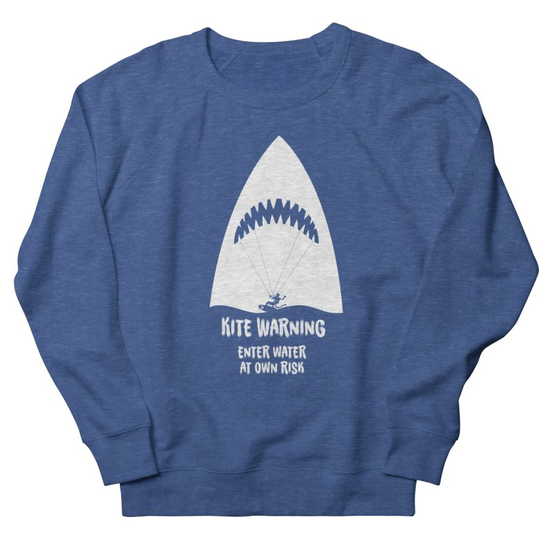 Kite Warning Women's French Terry Sweatshirt by kitersoze