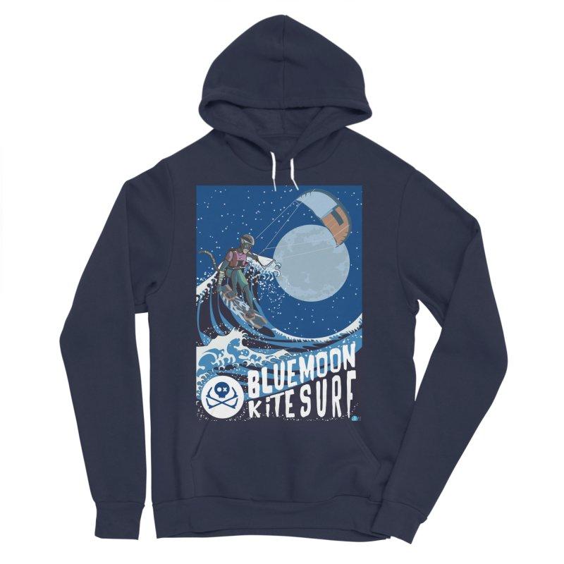BlueMoon KiteSurf Women's Sponge Fleece Pullover Hoody by kitersoze
