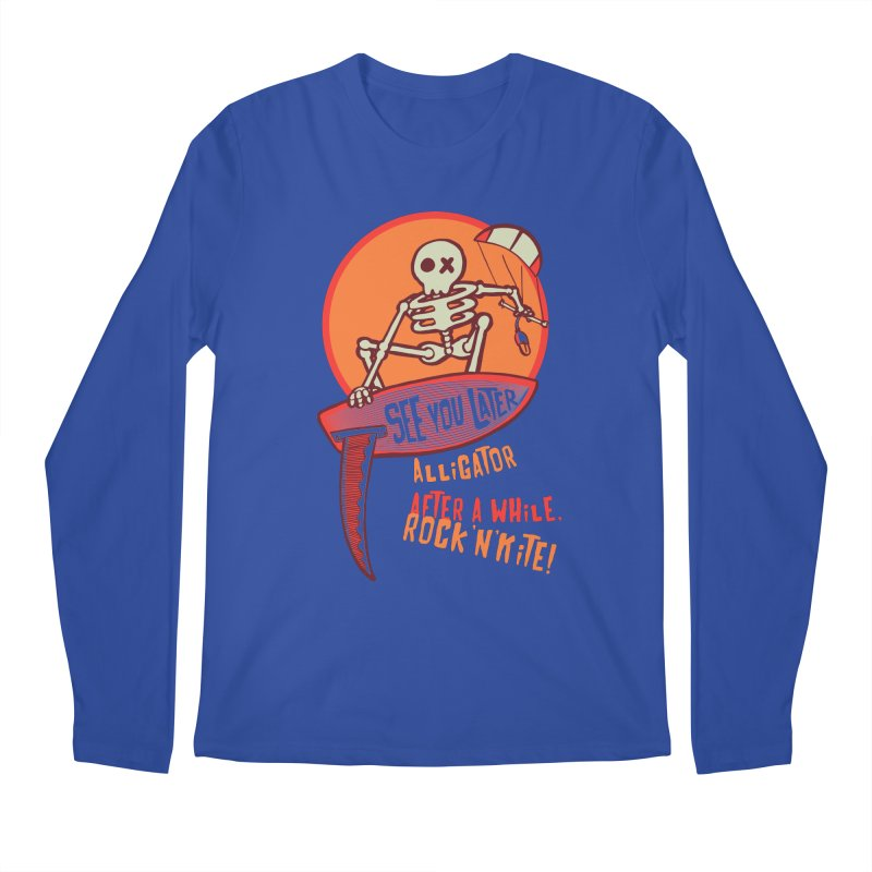 See you later Men's Regular Longsleeve T-Shirt by kitersoze