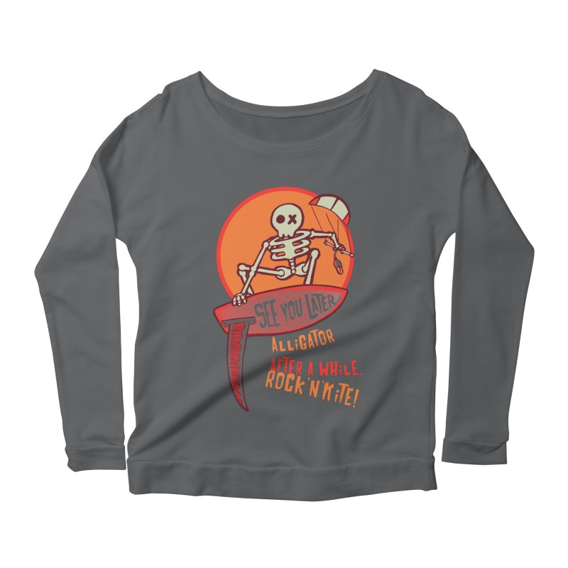 See you later Women's Longsleeve T-Shirt by kitersoze