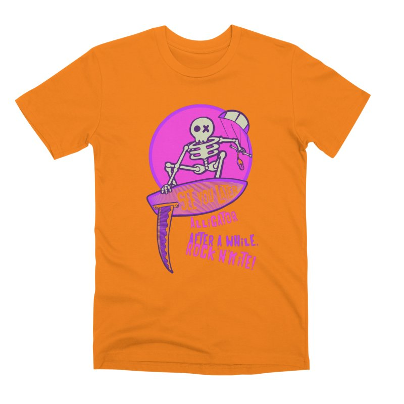 See You Later 2 in Men's Premium T-Shirt Orange by kitersoze