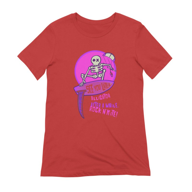 See You Later 2 Women's Extra Soft T-Shirt by kitersoze