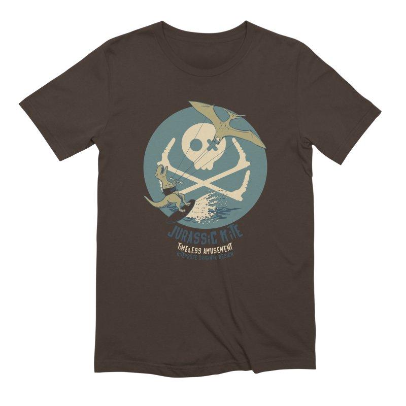 Jurassic Kite 1 Men's Extra Soft T-Shirt by kitersoze