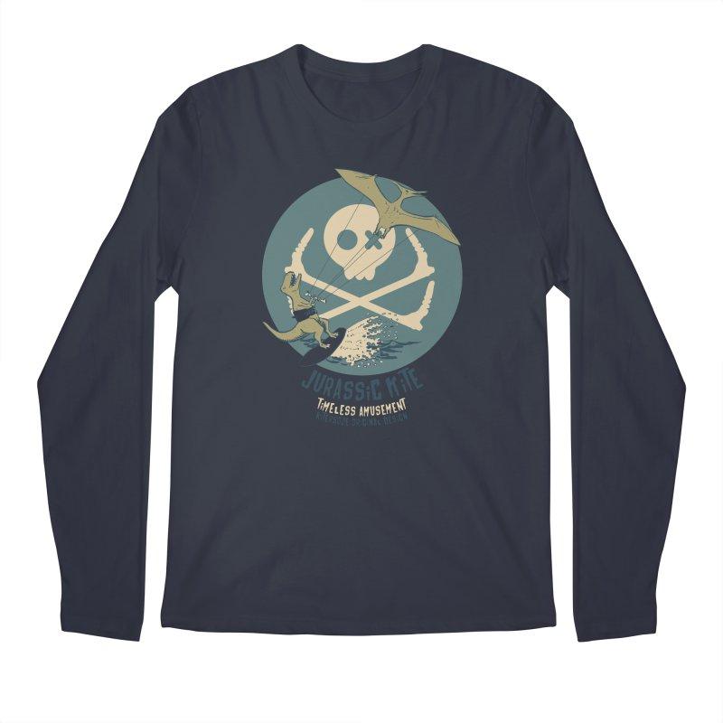 Jurassic Kite 1 Men's Longsleeve T-Shirt by kitersoze