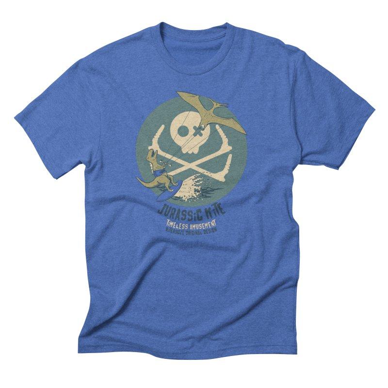 Jurassic Kite 1 Men's Triblend T-Shirt by kitersoze