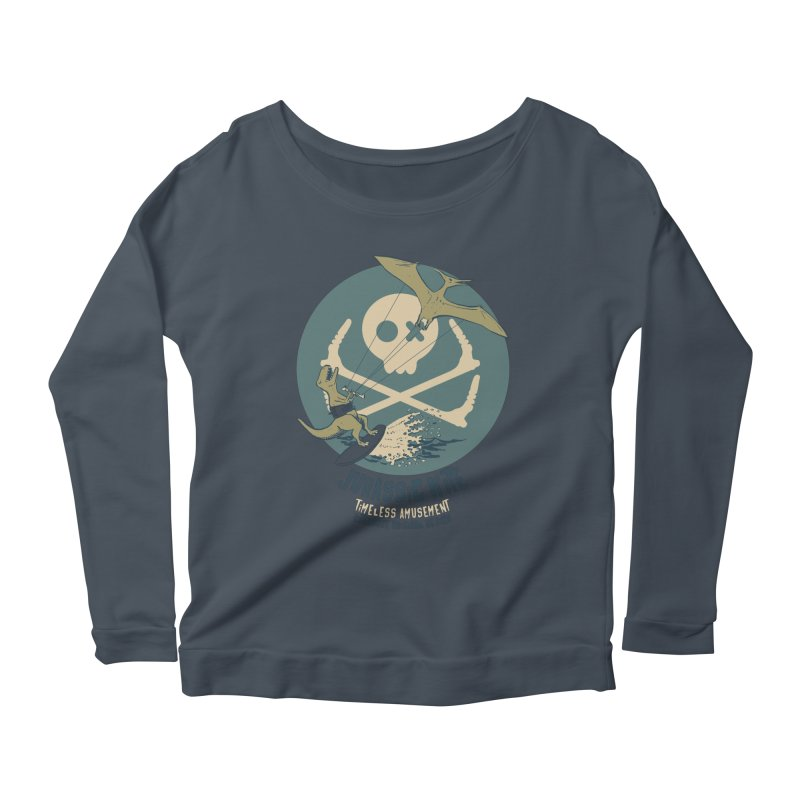 Jurassic Kite 1 Women's Longsleeve T-Shirt by kitersoze