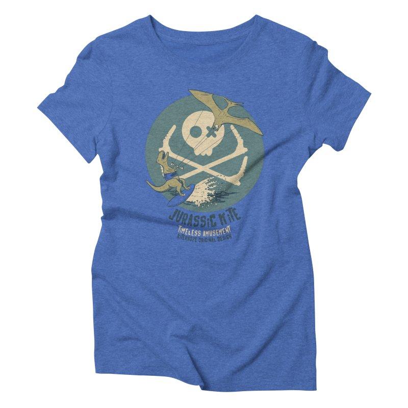 Jurassic Kite 1 Women's Triblend T-Shirt by kitersoze