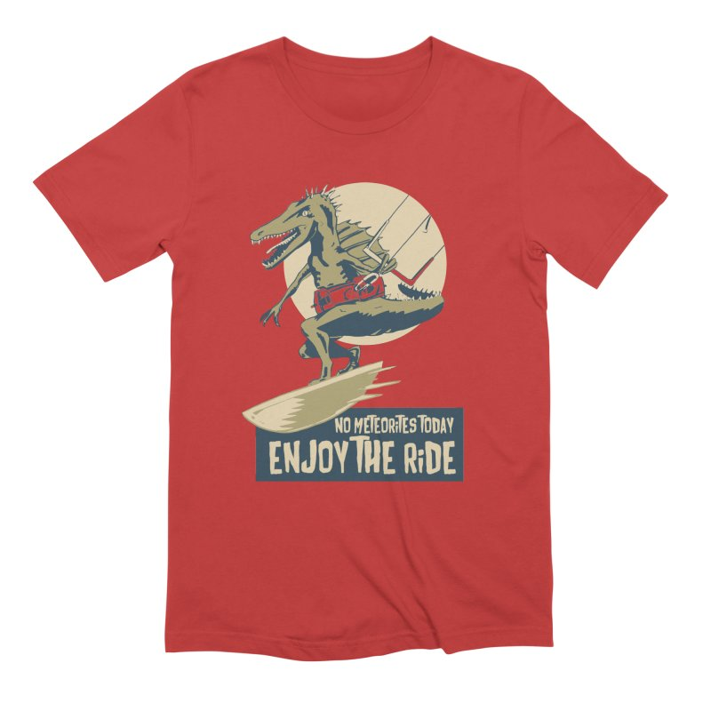 Jurassic Kite 2 Men's T-Shirt by kitersoze
