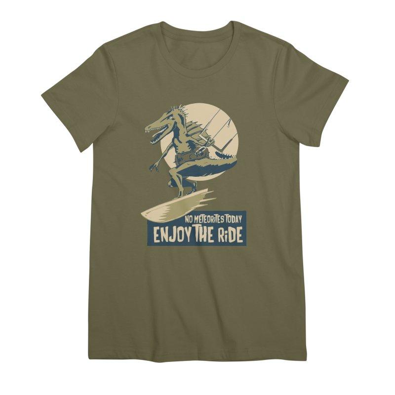 Jurassic Kite 2 Women's Premium T-Shirt by kitersoze