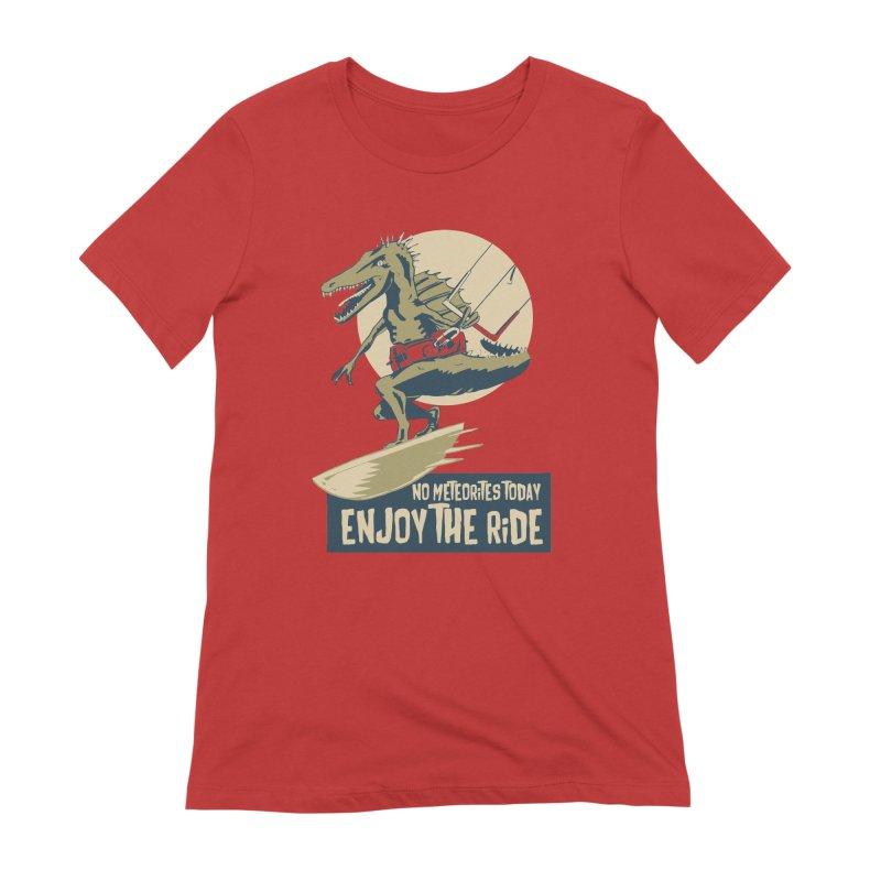 Jurassic Kite 2 Women's Extra Soft T-Shirt by kitersoze