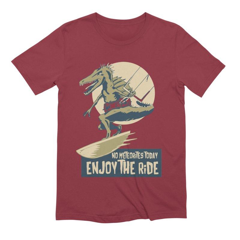 Jurassic Kite 2 Men's Extra Soft T-Shirt by kitersoze
