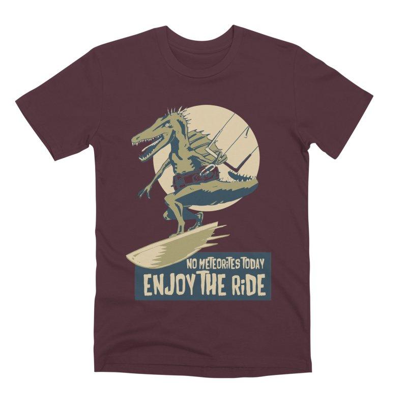 Jurassic Kite 2 Men's Premium T-Shirt by kitersoze