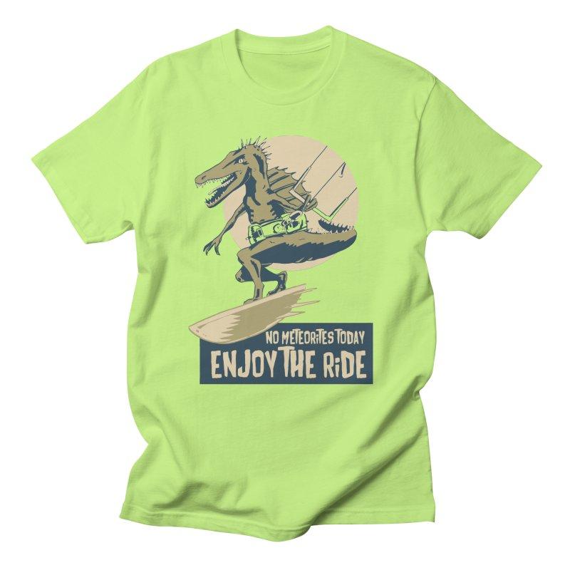 Jurassic Kite 2 Men's Regular T-Shirt by kitersoze