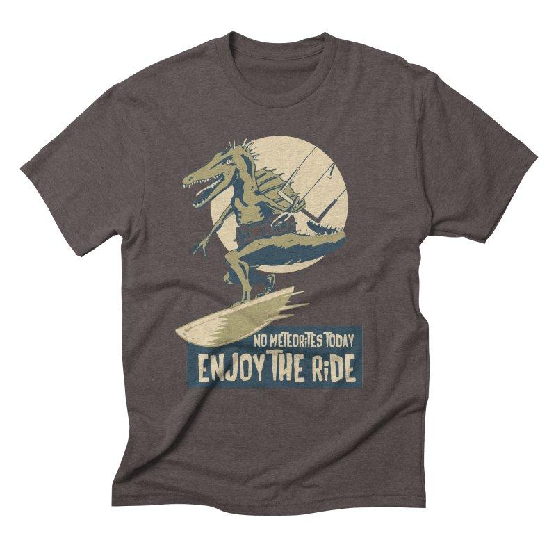 Jurassic Kite 2 Men's Triblend T-Shirt by kitersoze