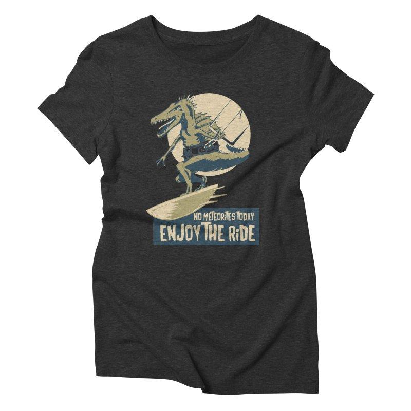 Jurassic Kite 2 Women's Triblend T-Shirt by kitersoze