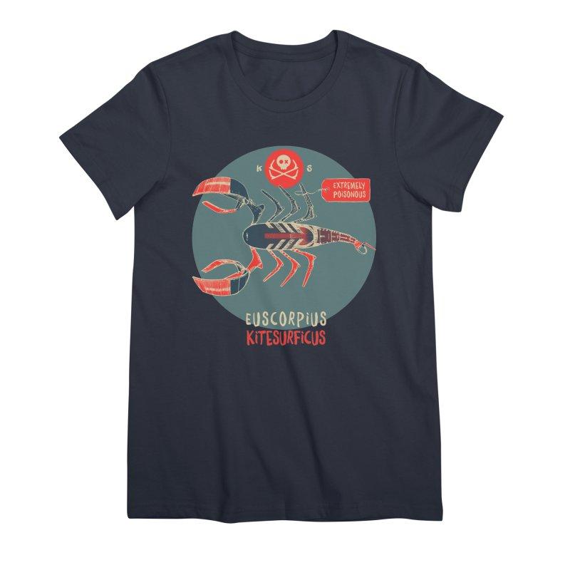Scorpio Women's Premium T-Shirt by kitersoze