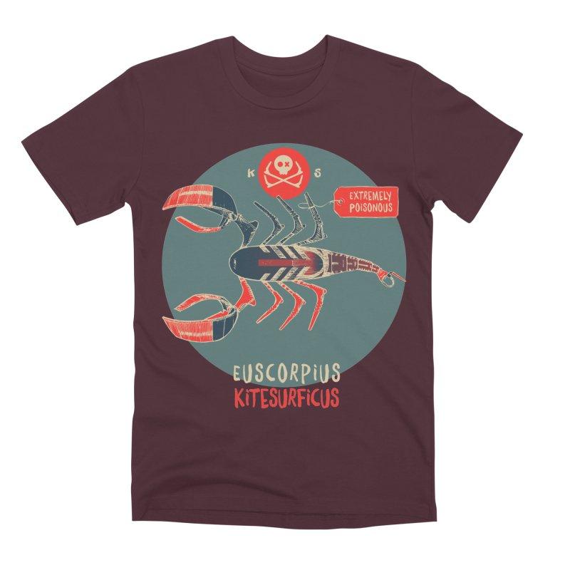 Scorpio Men's Premium T-Shirt by kitersoze