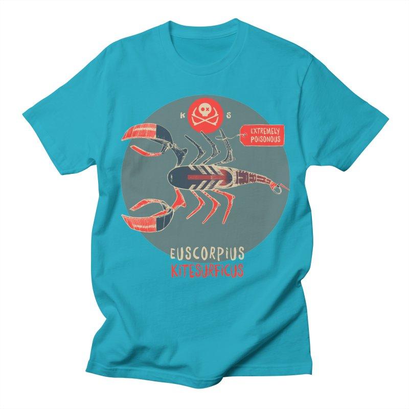 Scorpio Men's Regular T-Shirt by kitersoze